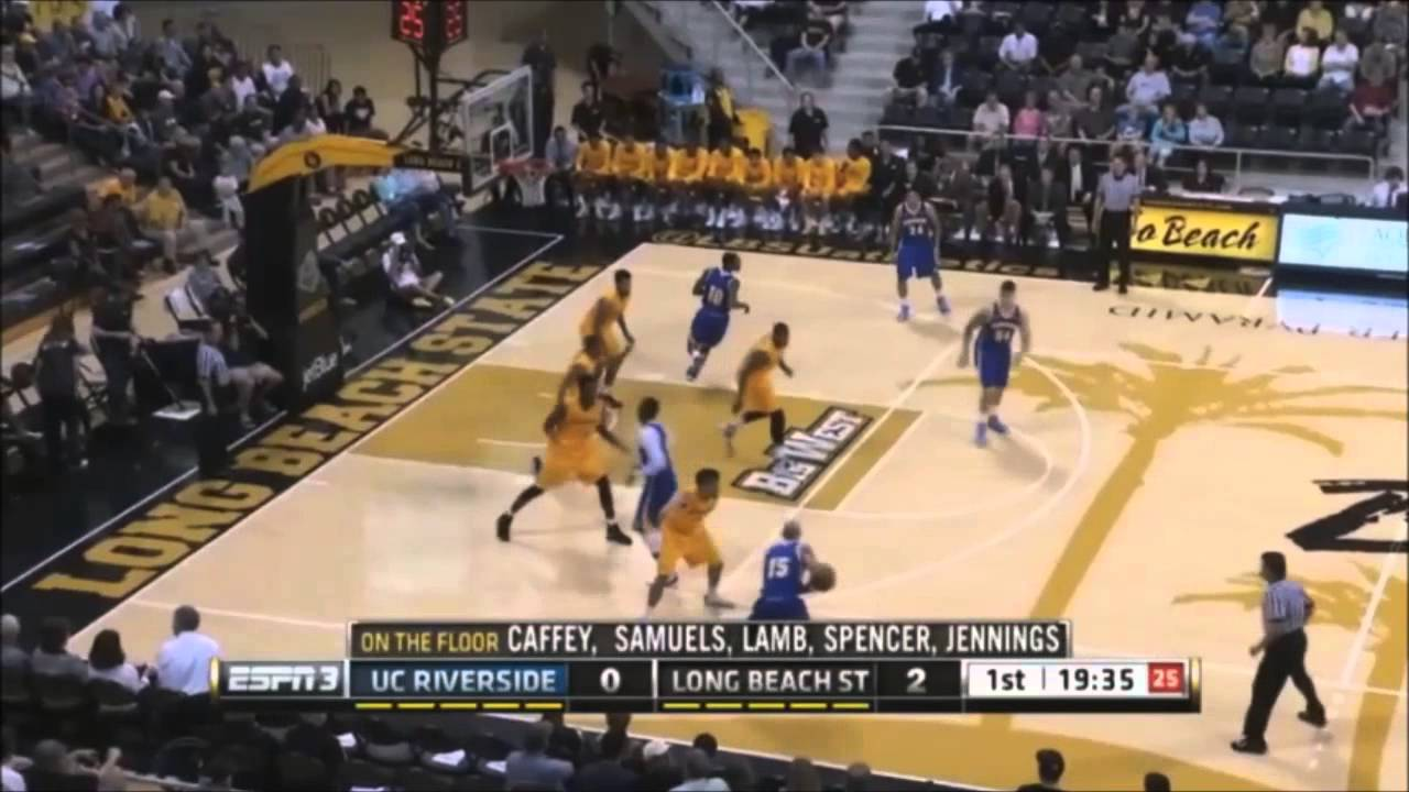 Long Beach State Vs Uc Riverside Espn3 College Basketball Rob