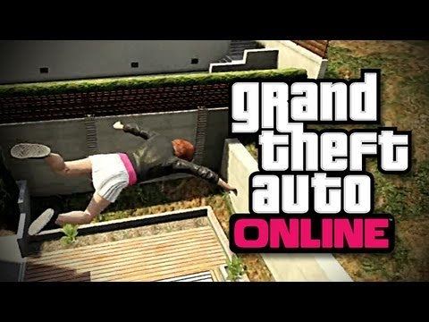 Falling vs. Diving (GTA V Online) [#5]