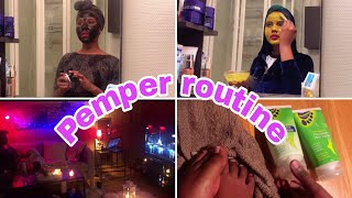 My pamper routine( malintayda is hagajinta relaxsing day