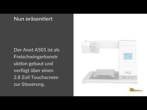 0 - Anet präsentiert vier neue 3D-Drucker