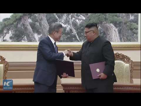 Leaders of S. Korea, DPRK sign agreement after Pyongyang summit
