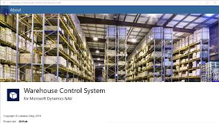 Warehouse Management System (WMS) for Microsoft Dynamics NAV