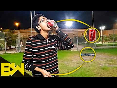 Coke And Mentos In The Mouth | Ticket To Hell | BroWinners