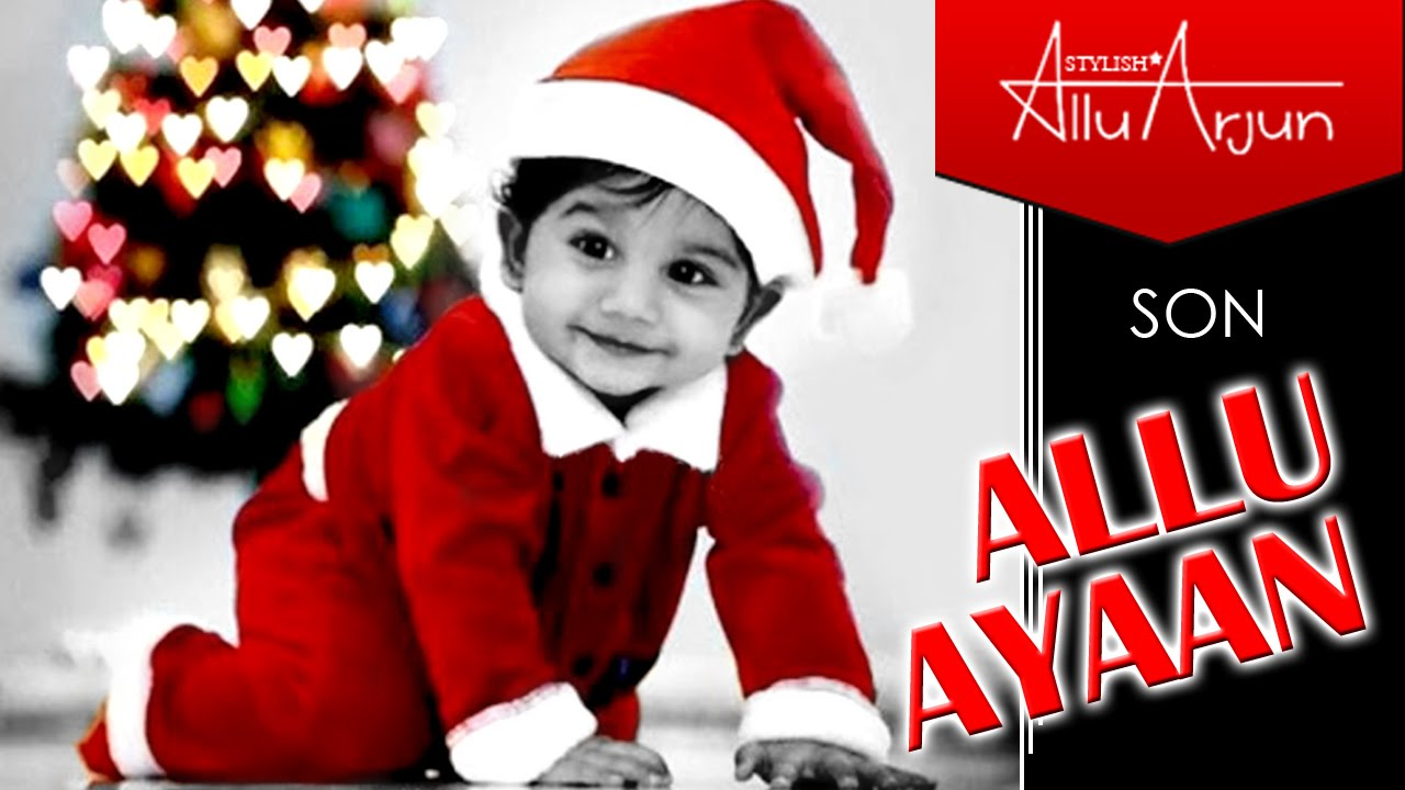 allu arjun son ayaan new look (hd) - youtube