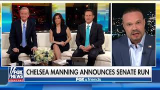 Bongino Sounds Off on Chelsea Manning's Senate Run