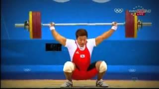 【ロンドン五輪】韓国人 重力挙げで腕が変な方向に曲がって痛みで泣く