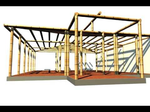 Casa modelo en guadua youtube - Casas para construir modelos ...