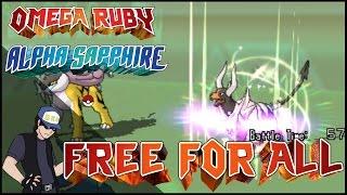 pokemon omega ruby alpha sapphire free for all dkd vs chy vs rayzoir vs blt