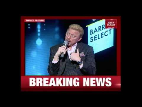 Ryan Giggs & Boris Becker At Royal Stag Barrel Select Perfect Strokes | Exclusive