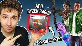 ¿A qué puedo jugar con la nueva APU Ryzen 3400G? ¿es suficiente? ¡160$ ! | test en 10 juegos