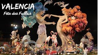 La fête Las Fallas, l'une des plus populaire d'Espagne, je vous explique tout