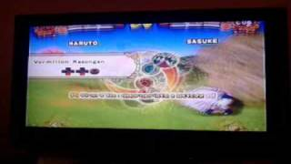naruto shippuden ultimate ninja 4 naruto nine tailed fox vs sasuke curse mark