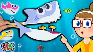 DIY Baby Shark!  | Crafty Carol Crafts | Cool School