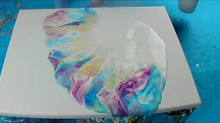 (Fluid299)  Nur Farbe, Wasser und Fön