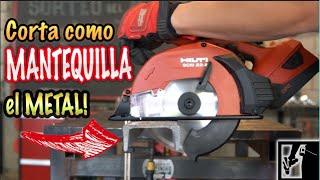 Esta sierra SI QUE CORTA METAL! || Sierra corta metales HILTI SCM 22-A