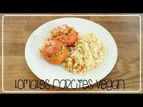 mes tomates farcies recettes vegan youtube. Black Bedroom Furniture Sets. Home Design Ideas