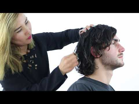 MEN'S HAIR CURLS - How to get Rockstar Hair
