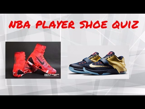 NBA Player Shoe Quiz!