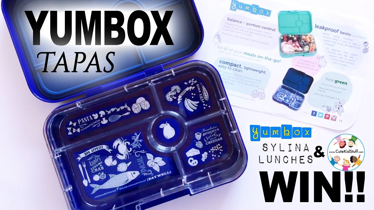 bento box lunch comparison yumbox tapas youtube. Black Bedroom Furniture Sets. Home Design Ideas