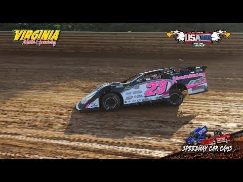 USA100 - #23 Ahnna Parkhurst - Crate Late Model - 6-16-18 Virginia Motor Speedway - In Car Camera