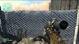 Modern Warfare 3: 1v1 Quick Scope against raging trash talker
