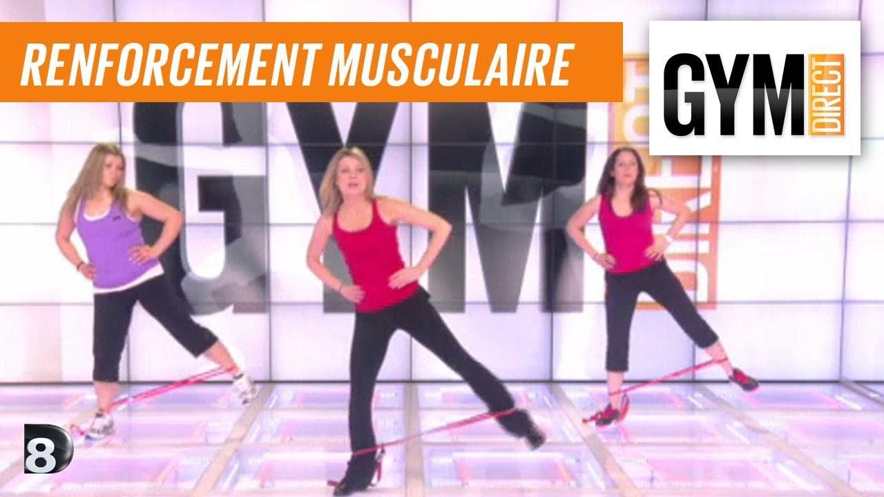 Populaire Cours gym : renfort musculaire 17 : Cuisses et fessiers avec un  CC75