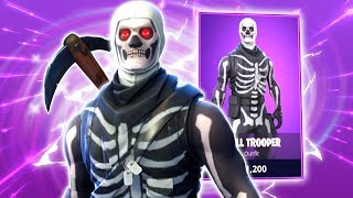 *SKULL TROOPER* SKIN FRIDAY IN THE SHOP?! - Fortnite: Battle Royale