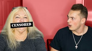 FINISH MY SENTENCE CHALLENGE W/ GRANDMOM