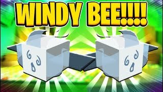 NEW UPDATE! NEW WINDY BEE BOUGHT In Roblox Bee Swarm Simulator