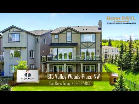 315 Valley Woods Place NW Calgary Realtor Ross PAVL Remax House Of Real Estate