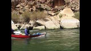21 days canoeing the grand canyon