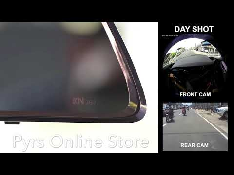 KN 360 Dashcam 360 Rearview Dash Camera