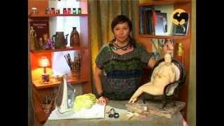 Авторская кукла 6. Ткани, костюм, кресло(, 2012-03-06T16:04:22.000Z)