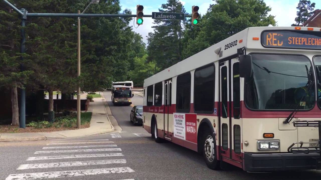 wata buses: 2005-07 new flyer d30lf & d35lf's & 2015 gillig low