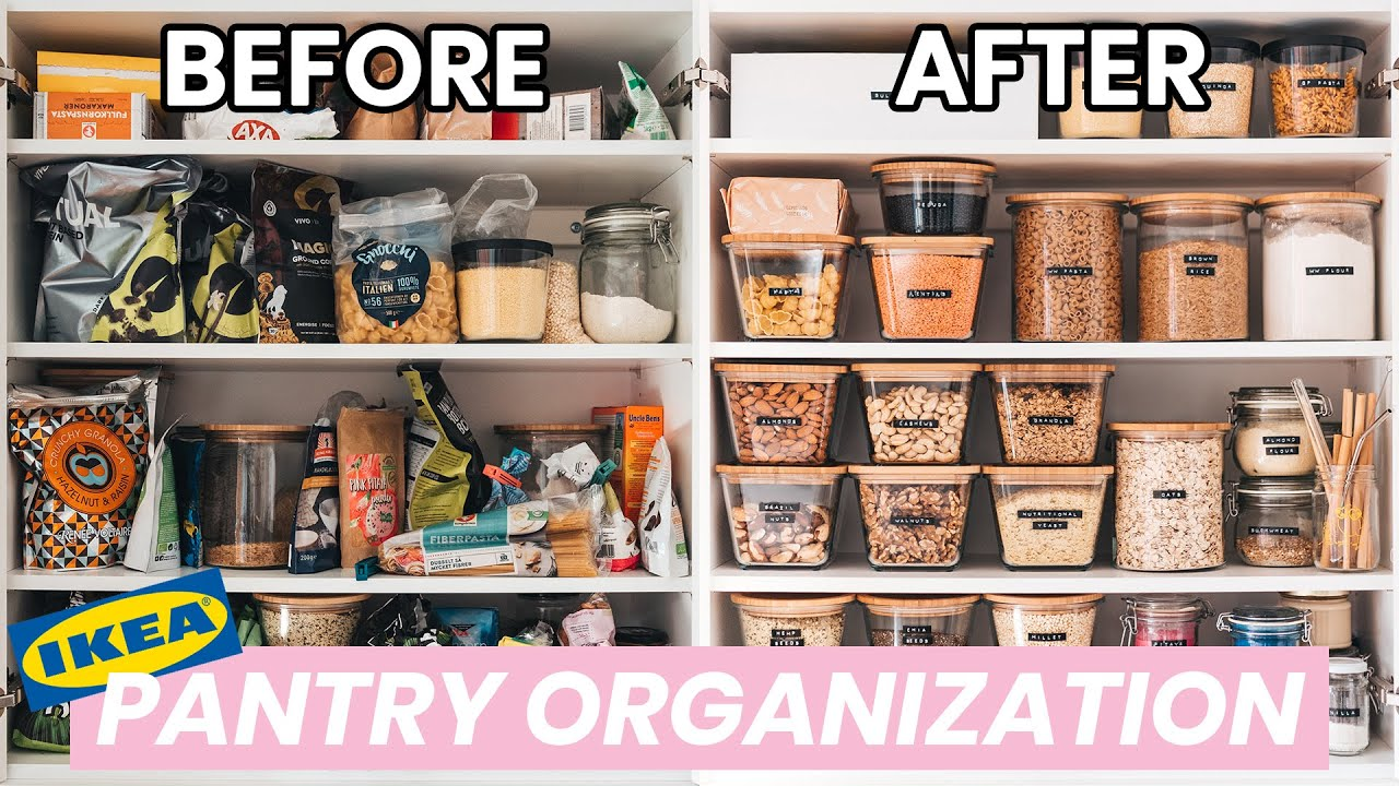 PANTRY ORGANIZATION / IKEA / Small Space
