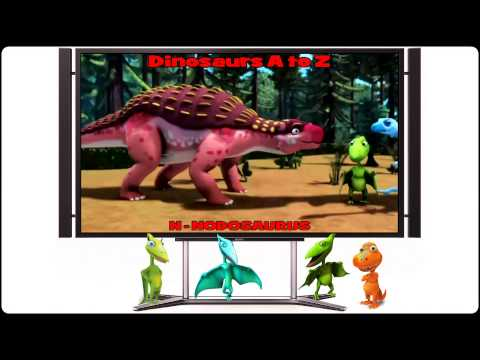 Dinosaur Train Alfabet, Full Version/Поезд Динозавров Алфавит, полная версия (Megalicense)