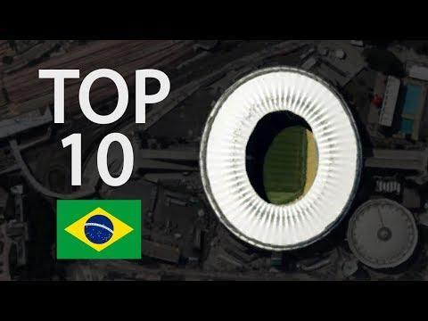 Top 10 biggest stadiums in brazil