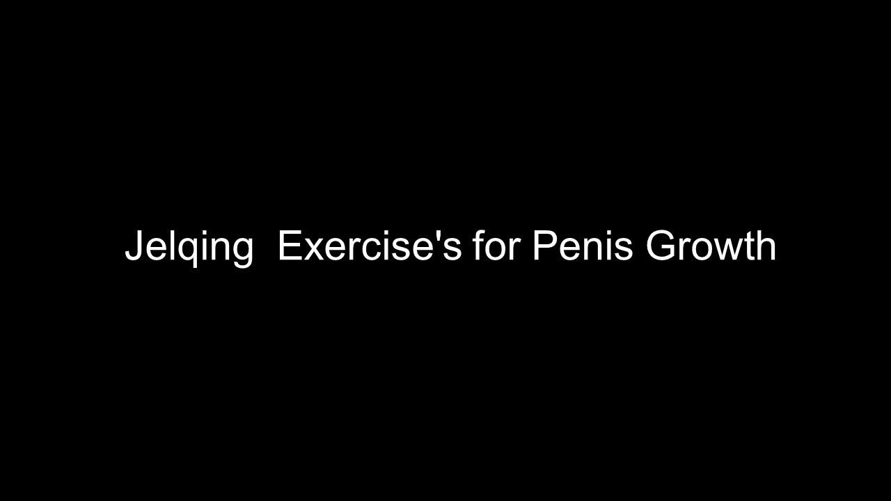Penis enhancement exercise video