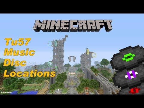Minecraft Xbox / PS - TU64 Tutorial World - All 12 Music Disc Locations! - (Tutorial)