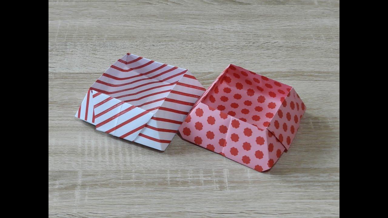 origami schachtel falten diy easter basket youtube. Black Bedroom Furniture Sets. Home Design Ideas