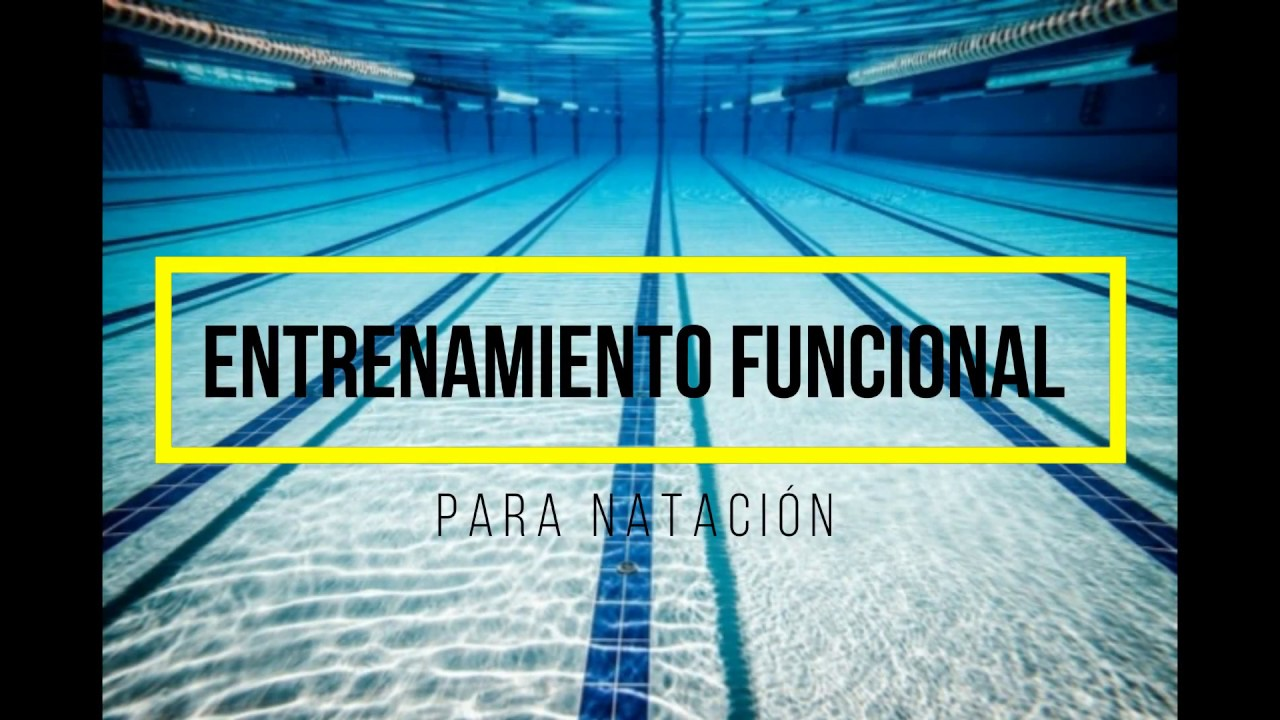 entrenamiento funcional natación - YouTube