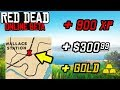 MAKE FAST MONEY XP & GOLD WITH THIS SECRET in Red Dead Online! LVL Up Fast & Money Tips RDR2!