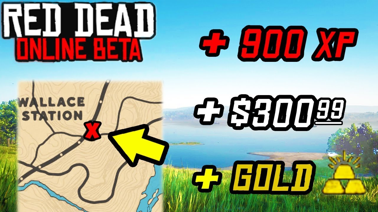 MAKE FAST MONEY XP & GOLD WITH THIS SECRET in Red Dead Online! LVL Up Fast & Money Tips RDR2