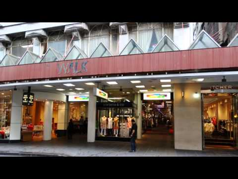 Melbourne shopping The Causeway, The Walk Arcade, Howey Place, Hardware Lane, Mitre place