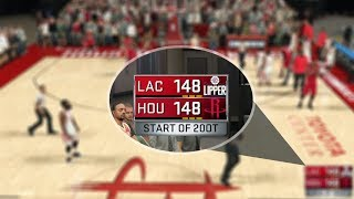 IS THERE AN END TO OVERTIMES IN NBA 2K17? NBA 2K17 GAMEPLAY!