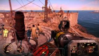 Fallout 4 Castle Defense huge battle