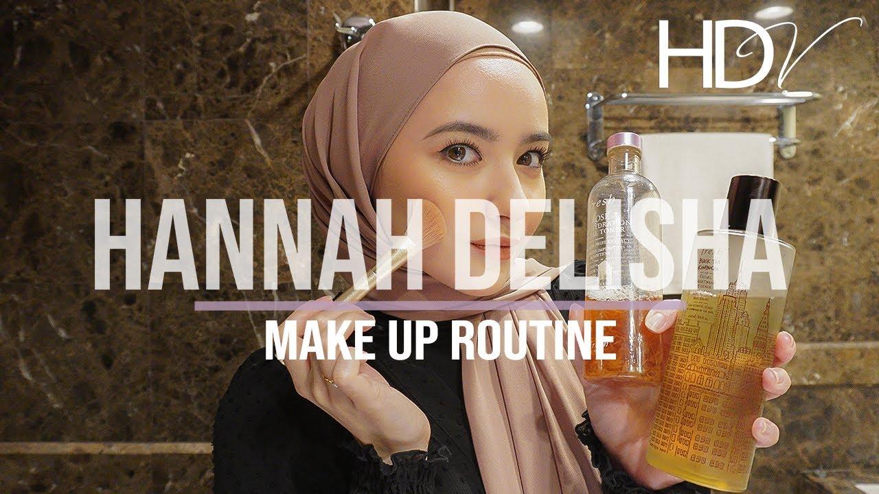 MY BEAUTY ROUTINE   HANNAH DELISHA (LOCKDOWN PERIOD)