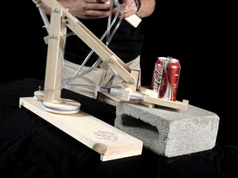 how to build a syringe robotic arm
