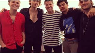 5SOS interview with Angus on Hit 107 Adelaide (audio)