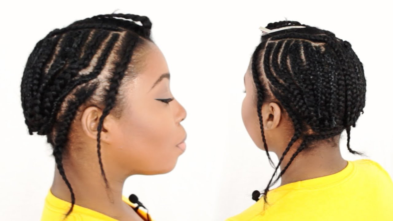 Sew In Braid Pattern With Leave Out Tutorial Part Of YouTube - Diy braid pattern